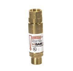 Клапан огнепреградительный DGN для редуктора, горючий газ