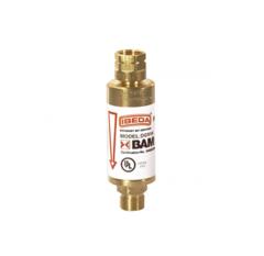 Клапан огнепреградительный DG91N для редуктора - горючий газ, с термическим клапаном