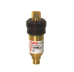 Клапан огнепреградительный DS2000 для редуктора, горючий газ, чувствительный к давлению
