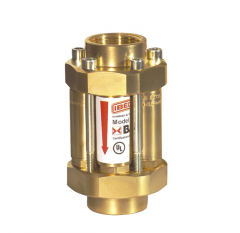 Клапан огнепреградительный Demax для системы газа - горючий газа, с большой пропускной способностью