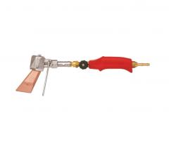 Комплект горелки с паяльником, пропан 370 г, ветроустойчивый, цвет красный