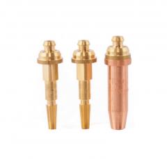 Комплект наконечников резака, природный газ - кислород для резки металла 3-100 мм
