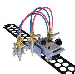 Рельсовая машина для резки среднего материала - с двойным резаком