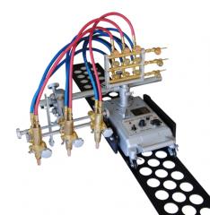 Рельсовая машина для резки крупного материала - с тройным резаком