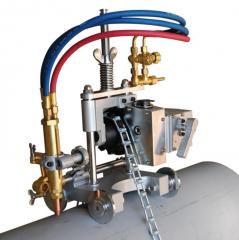 Машина для газовой резки труб с цепью ZK50M