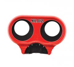 Пластмассовое защитное устройство для манометров редукторов, красное