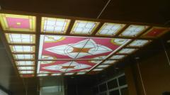 Потолки витражные - Витражи для потолка