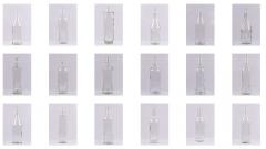 Бутылка стеклянная водочная