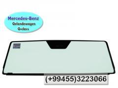 Mercedes-Benz Gelandewagen G-class üçün ön şüşə.  Лобовое стекло для Mercedes-Benz Gelandewagen G-class.