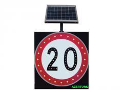 Светодиодные дорожные знаки на солнечных