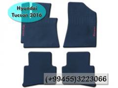Hyundai Tucson 2016 ucun ayaqaltilar, Коврики для Hyundai Tucson 2016.