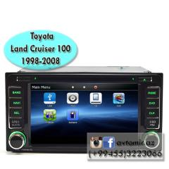 Toyota Land Cruiser 100 1998-2008 üçün DVD- monitor, DVD- монитор для Toyota Land Cruiser 100 1998-2008.