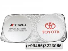 Günlük Toyota,  Солнцезащитник Toyota.