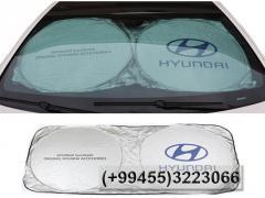 Günlük Hyundai,  Солнцезащитник Hyundai.