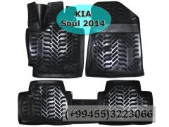 Kia Soul 2014 üçün poliuretan ayaqaltilar AİLERON,Полиуретановые коврики AİLERON для Kia Soul 2014 .