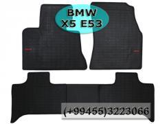BMW X5 E53 üçün silikon ayaqaltilar ,Силиконовые коврики  для BMW X5 E53 .