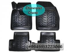 Chevrolet Cruze və hər növ avtomobil üçün poliuretan ayaqaltilar, Полиуретановые коврики для Chevrolet Cruze  и всех видов авто.
