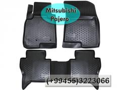 Mitsubishi Pajero üçün poliuretan Loker ayaqaltilar,Полиуретановые коврики Loker для Mitsubishi Pajero.