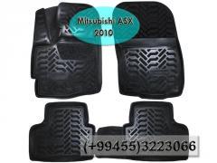 Mitsubishi ASX 2010 üçün poliuretan AILERON ayaqaltilar, Полиуретановые коврики AILERON для Mitsubishi ASX 2010.