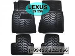 Lexus IS250 üçün poliuretan ayaqaltılar,   Полиуретановые коврики для Lexus IS250.