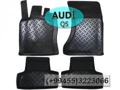 Audi Q5 üçün poliuretan ayaqaltılar,  Полиуретановые коврики для Audi Q5.