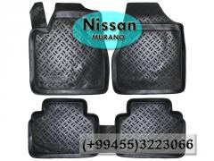 Nissan Murano üçün poliuretan ayaqaltılar,Полиуретановые коврики для Nissan Murano.