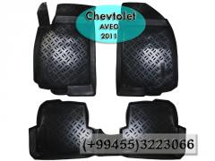 Chevrolet Aveo 2011 üçün poliuretan ayaqaltılar,  Полиуретановые коврики для Chevrolet Aveo 2011.