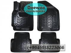 Daewoo Ravon Gentra üçün poliuretan ayaqaltılar,  Полиуретановые коврики для Daewoo Ravon Gentra.