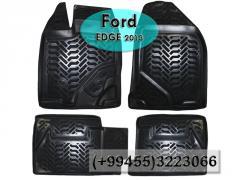 Ford Edge 2013 üçün poliuretan ayaqaltılar, Полиуретановые коврики для Ford Edge 2013.