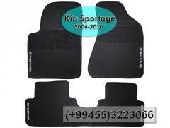 Kia Sportage 2004-2010 üçün silikon ayaqaltılar,  Силиконовые коврики для Kia Sportage 2004-2010.