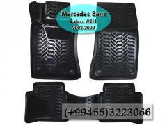 Mercedes Bens E-Class W211 2002-2009 üçün poliuretan ayaqaltılar,Полиуретановые коврики для Mercedes Bens E-Class W211 2002-2009 .