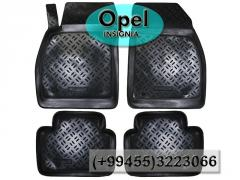 Opel İnsignia üçün poliuretan ayaqaltılar, Полиуретановые коврики для Opel İnsignia.