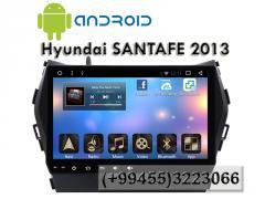Hyundai Santafe 2013 üçün ANDROİD DVD-monitor,ANDROİD DVD-монитор для Hyundai Santafe 2013.