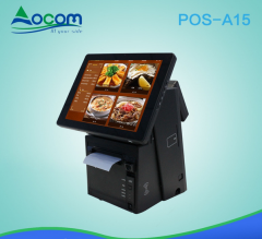 POS терминал POS-A15 Ocom. Touch screen, black 2GB Ram/dual screen