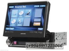 Içindən çıxan  DVD- monitor,  Выдвижной DVD- монитор .