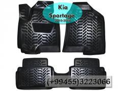 Kia Sportage 2010-2016 üçün poliuretan ayaqaltilar,  Полиуретановые коврики для Kia Sportage 2010-2016 .