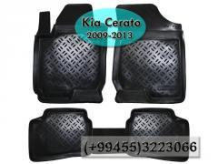Kia Cerato 2009-2013 üçün poliuretan ayaqaltilar,Полиуретановые коврики для Kia Cerato 2009-2013 .