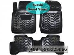Suzuki Grand Vitara üçün poliuretan ayaqaltilar,Полиуретановые коврики для Suzuki Grand Vitara  .