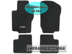 Mercedse Benz GL164 üçün boz kovrolit ,   Ковролин для Mercedse Benz GL164 .