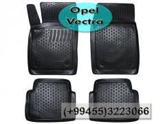 Opel Vectra üçün poliuretan ayaqaltilar, Полиуретановые коврики для Opel Vectra.