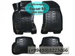 Volkswagen Passat B5 2000-2005 üçün poliuretan ayaqaltilar, Полиуретановые коврики для Volkswagen Passat B5 2000-2005.