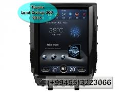 Toyota Land Cruiser 200 2015 üçün ANDROİD DVD-monitor,  ANDROİD DVD-монитор для Toyota Land Cruiser 200 2015.