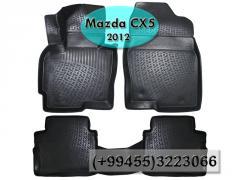 Mazda CX-5 2012 üçün poliuretan ayaqaltilar,Полиуретановые коврики для Mazda CX-5 2012.