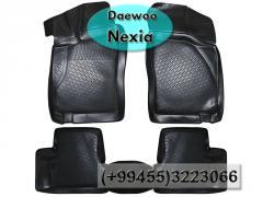 Daewoo Nexia üçün poliuretan ayaqaltilar,Полиуретановые коврики для Daewoo Nexia .