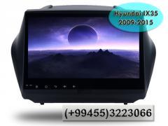 Hyundai IX35 2009-2015 üçün ANDROİD DVD-monitor,  ANDROİD DVD-монитор для Hyundai IX35 2009-2015.