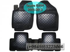 Toyota Rav4 2005-2013 üçün poliuretan ayaqaltilar,  Полиуретановые коврики для Toyota Rav4 2005-2013 .