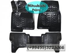 Mitsubishi Pajero üçün poliuretan ayaqaltilar,Полиуретановые коврики для Mitsubishi Pajero.