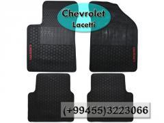 Chevrolet Lacetti üçün silikon ayaqaltılar, Силиконовые коврики для Chevrolet Lacetti .