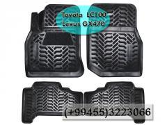 Toyota Land Cruiser 100 LC100 ve Lexus GX470 üçün poliuretan ayaqaltılar.