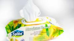 Влажная салфетка Seide   ароматом нарцисса 120 шт